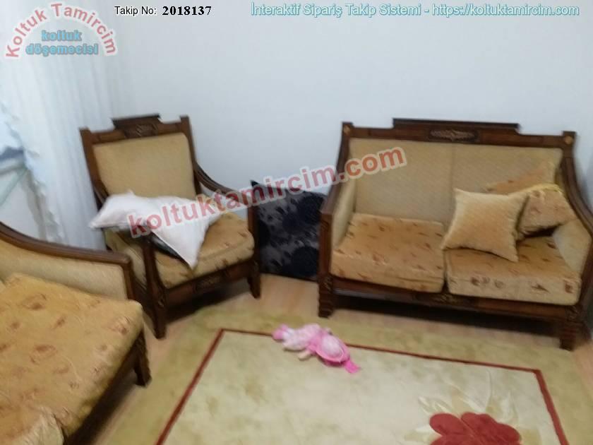 Klasik koltuk takımı tamir kumaş sünger değişimi Bulgurlu
